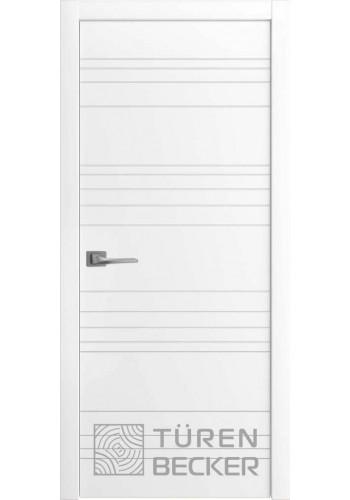 Дверь Turen-becker Соммер ПГ белая эмаль