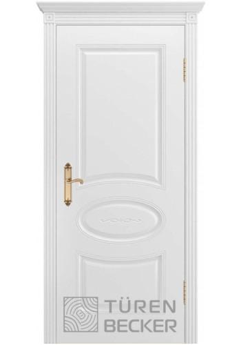 Дверь Turen-becker ПРОВАНС В1 ПГ белая эмаль