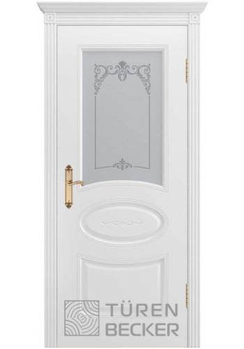 Дверь Turen-becker ПРОВАНС В1 ПО белая эмаль