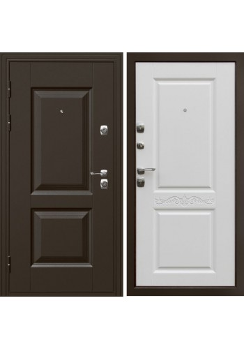 Входная дверь ДК Гранд Белый